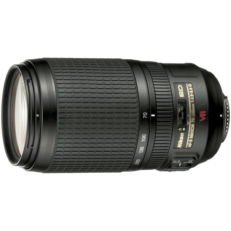Nikon AF-S Nikkor 70-300mm f/4.5-5.6G IF-ED VR objektiiv