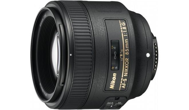 Nikon AF-S Nikkor 85mm f/1.8G objektiiv