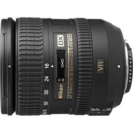 Nikkor AF-S DX 16-85mm f/3.5-5.6 G VR objektiiv