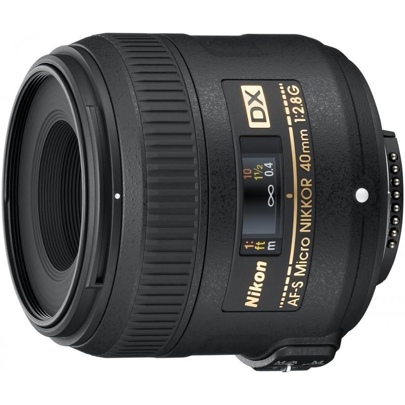 Nikon AF-S DX Micro-Nikkor 40mm f/2.8G objektiiv