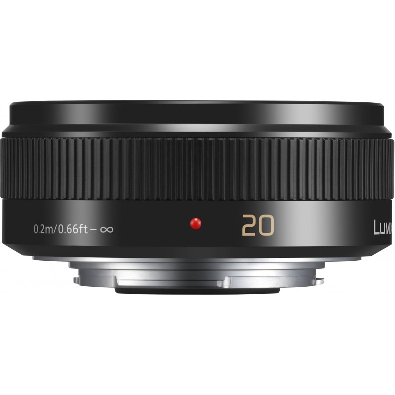 Panasonic Lumix G 20mm f/1.7 II ASPH, black