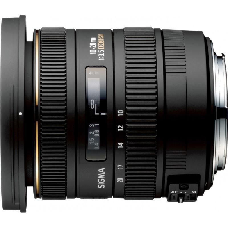 Sigma AF 10-20mm f/3.5 EX DC HSM objektiiv Pentaxile