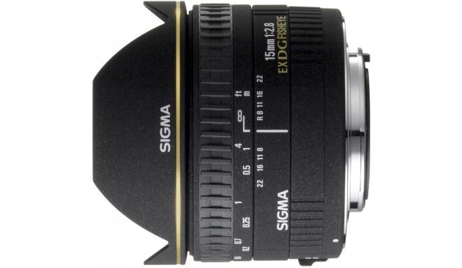 Sigma 15mm f/2.8 EX DG Diagonal Fisheye objektiiv Canonile
