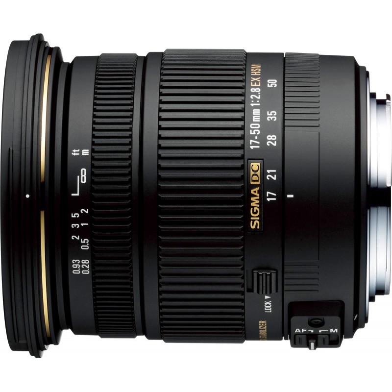 Sigma AF 17-50mm f/2.8 DC OS HSM objektiiv Nikonile