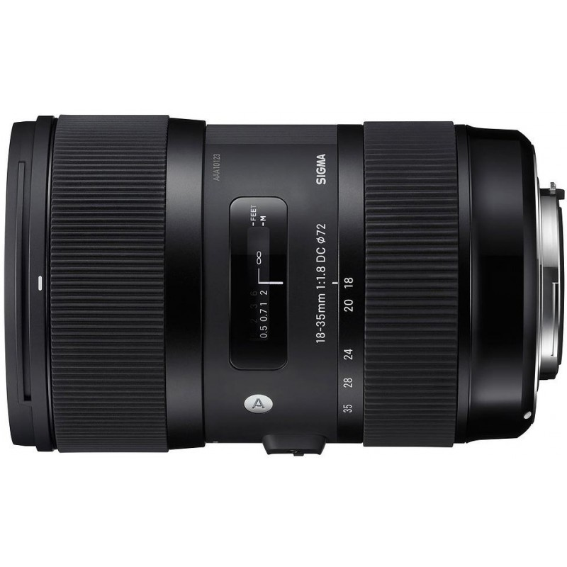 Sigma AF 18-35mm f/1.8 DC HSM A for Canon