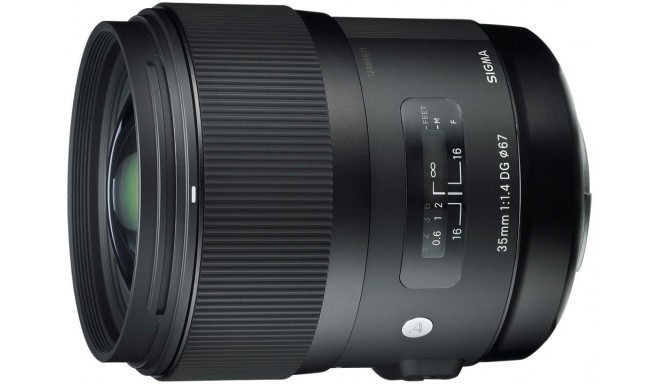 Sigma 35mm f/1.4 DG HSM Art objektiiv Pentaxile
