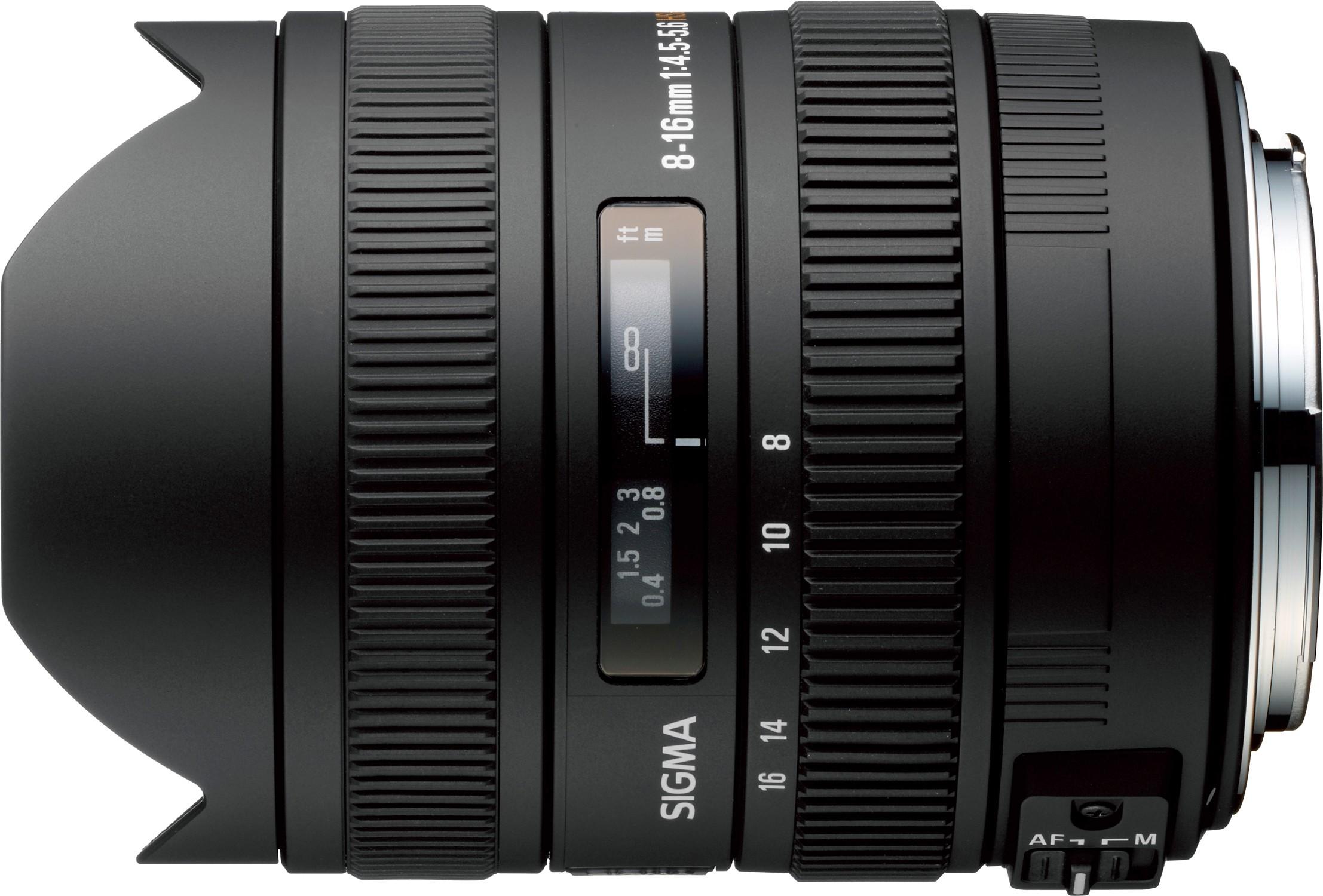 Sigma 8-16mm f/4.5-5.6 DC HSM objektiiv ..
