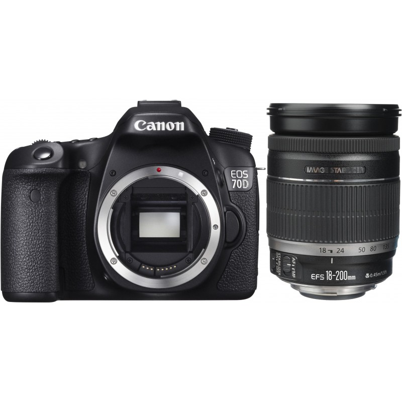 Canon EOS 70D + 18-200mm IS Kit