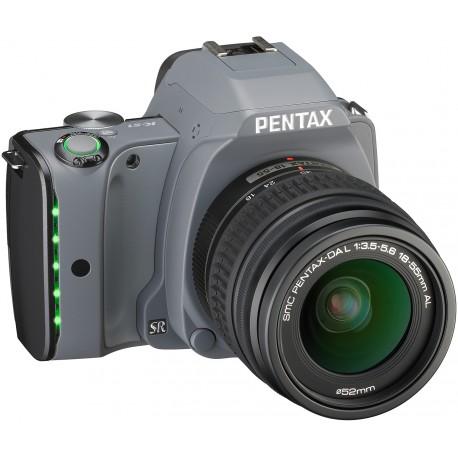Pentax K-S1 + 18-55mm Kit, Tweed Gray