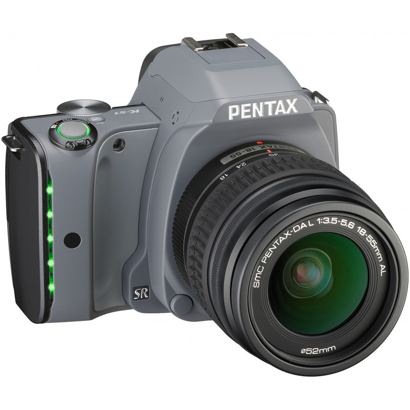 Pentax K-S1 + 18-55mm Kit, Tweed Gray