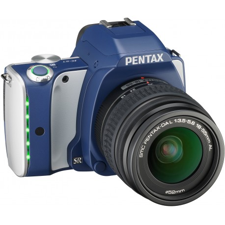 Pentax K-S1 + 18-55mm Kit, Denim Blue