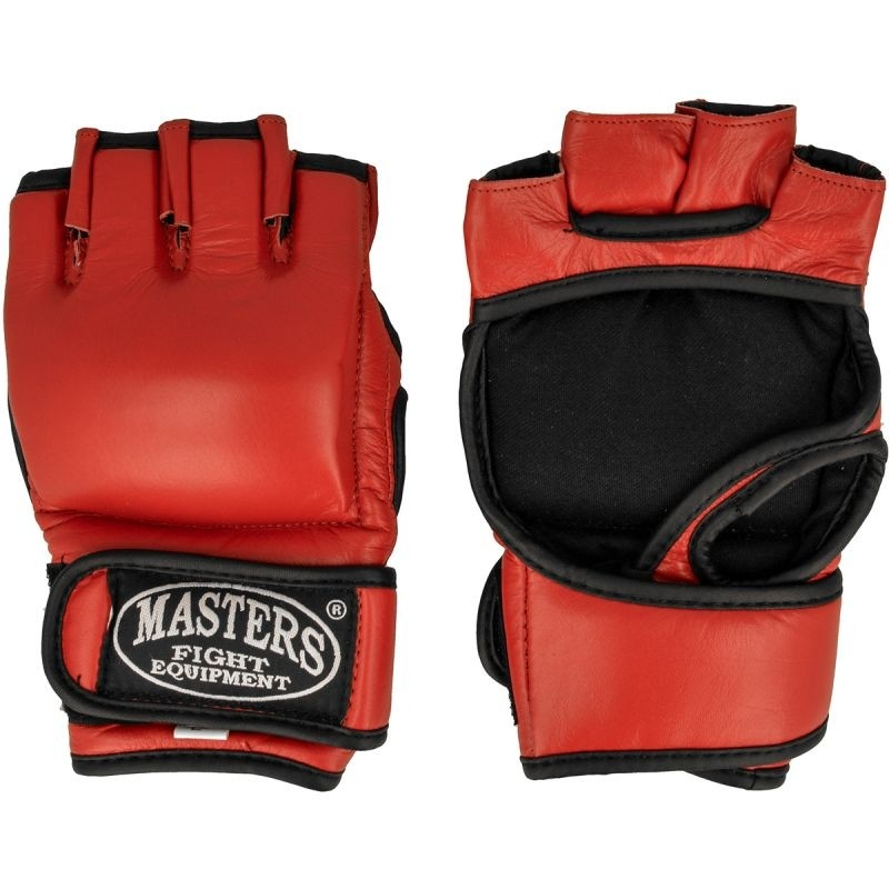746fb002381 Võitluskunstide kindad Masters do MMA GF-3 punane - Kaitsmed ...