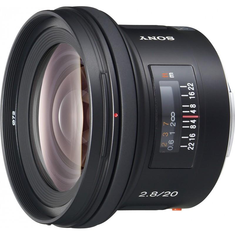 Sony 20mm f/2.8 objektiiv