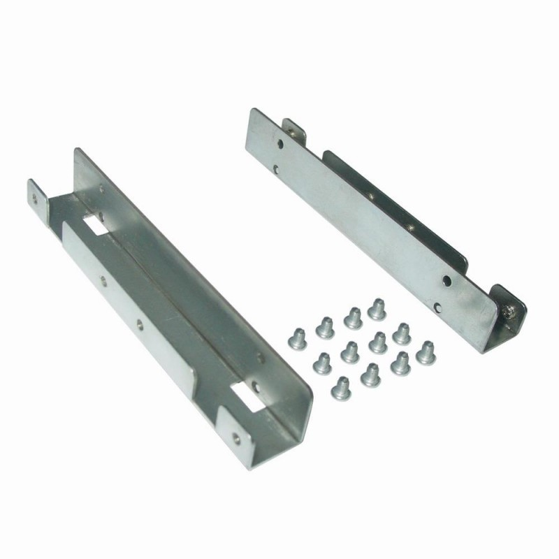 Gembird metal mounting frame for 2 x 2.5\'\' HDD/SSD to 3.5\'\' bay ...