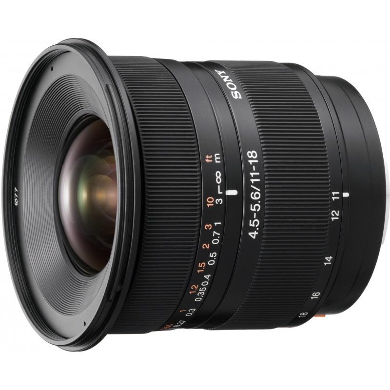 Sony DT 11-18mm f/4.5-5.6 objektiiv