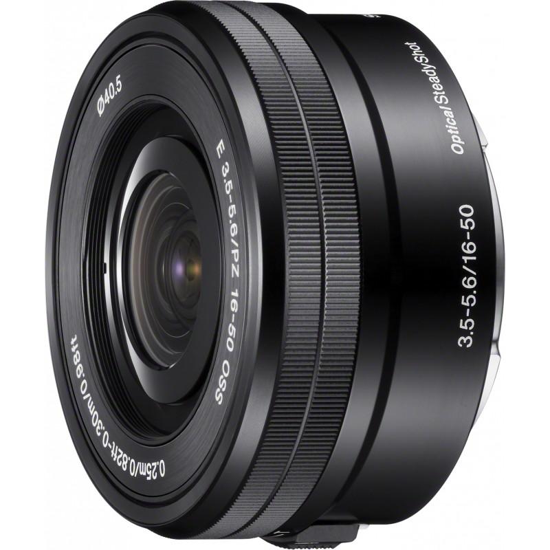 Sony E 16-50mm f/3.5-5.6 PZ OSS objektiiv