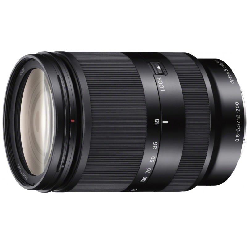 Sony E 18-200 мм f/3.5-6.3 OSS чёрный
