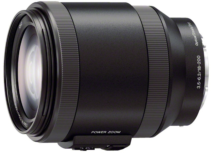 Sony E 18-200mm f/3.5-6.3 OSS Power Zoom..