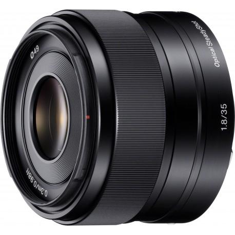 Sony E 35мм f/1.8 OSS объектив
