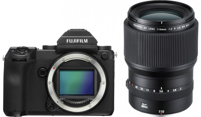 Fujifilm GFX 50S + 110 мм f/2