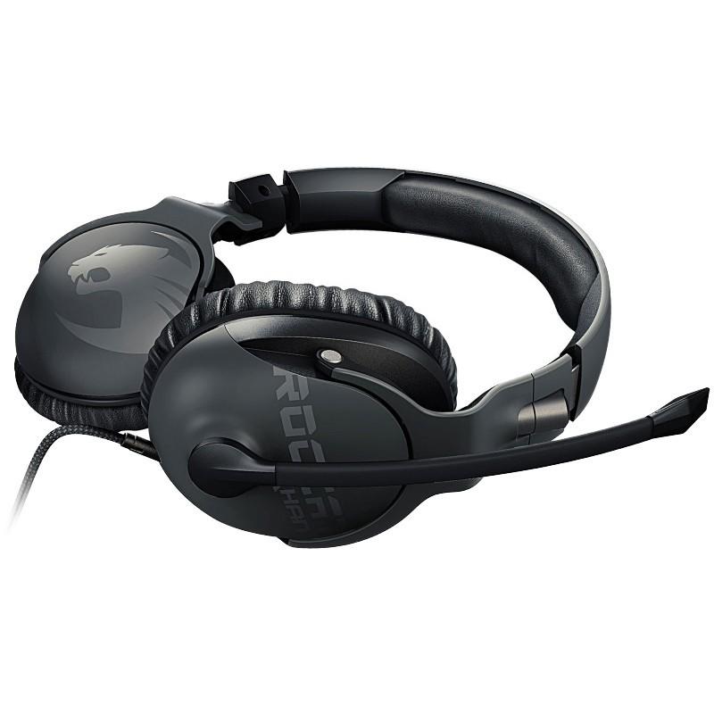 Roccat kõrvaklapid + mikrofon Khan Pro, hall (ROC-14-620)