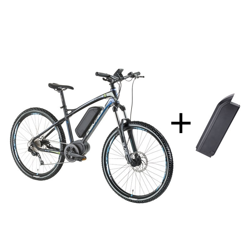 Mountain bicycle with battery devron 27 5 inch electric for Yamaha e mountain bike