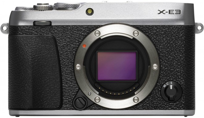 Fujifilm X-E3 korpuss, sudrabots