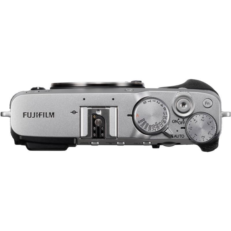 Fujifilm X-E3 kere, hõbedane
