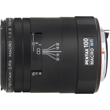 smc Pentax D FA 100мм f/2.8 Macro WR объектив