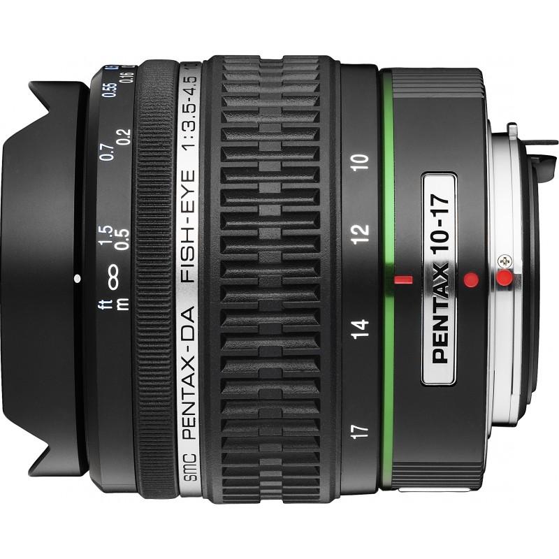 smc PENTAX DA 10-17mm f/3.5-4.5 ED IF objektiiv