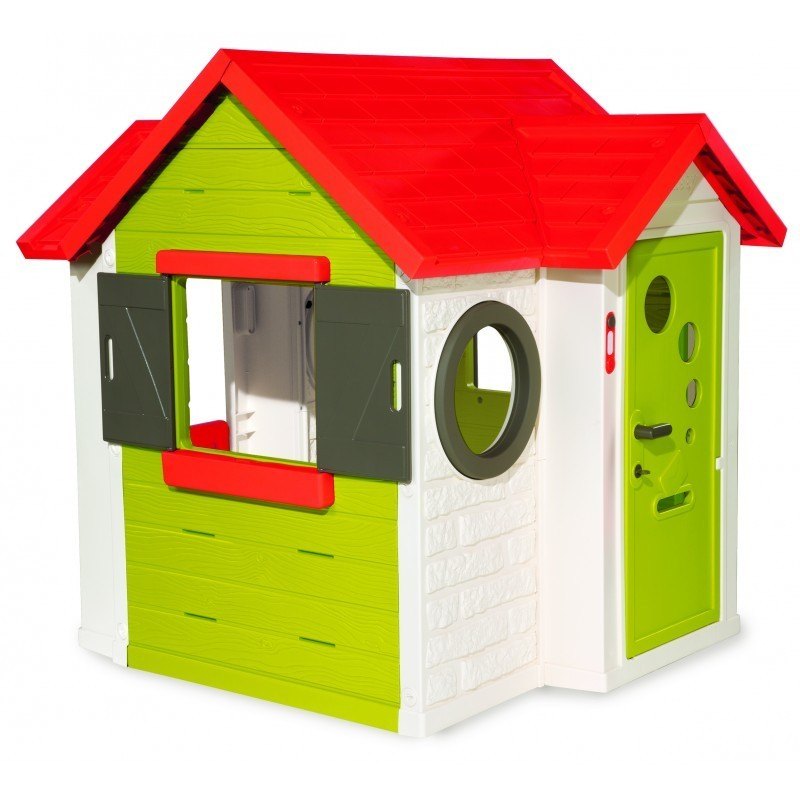 smoby playhouse my house playhouses and slides photopoint. Black Bedroom Furniture Sets. Home Design Ideas