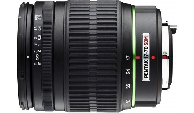 smc Pentax DA 17-70mm f/4.0 AL (IF) SDM objektiiv