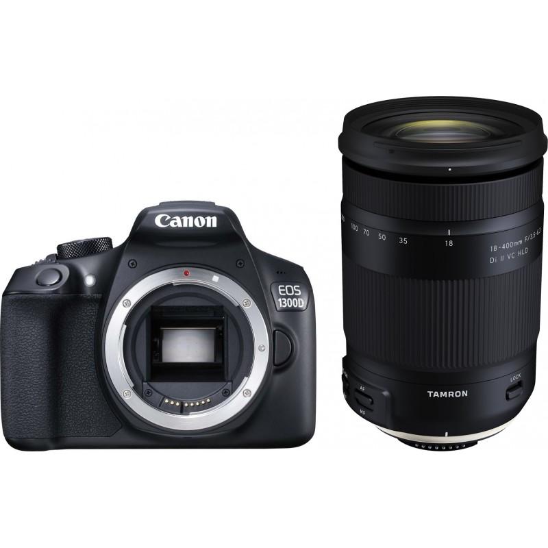 Canon EOS 1300D + Tamron 18-400 мм