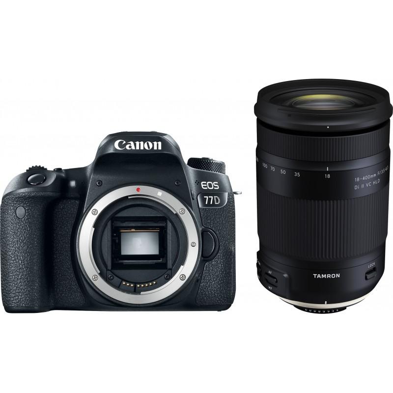 Canon EOS 77D + Tamron 18-400mm
