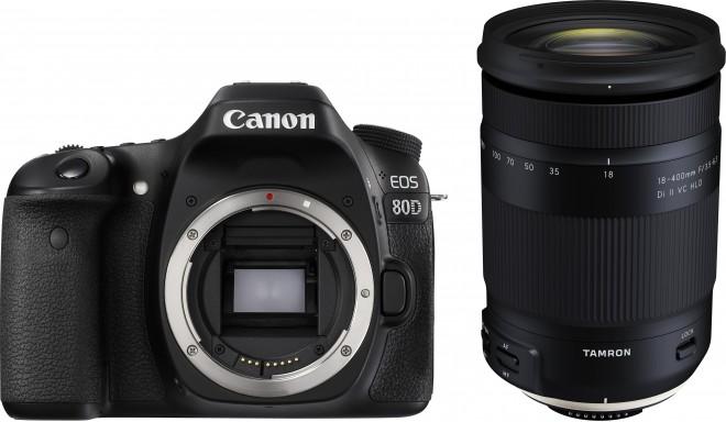 Canon EOS 80D + Tamron 18-400mm