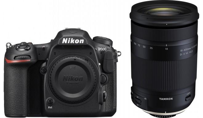 Nikon D500 + Tamron 18-400 мм