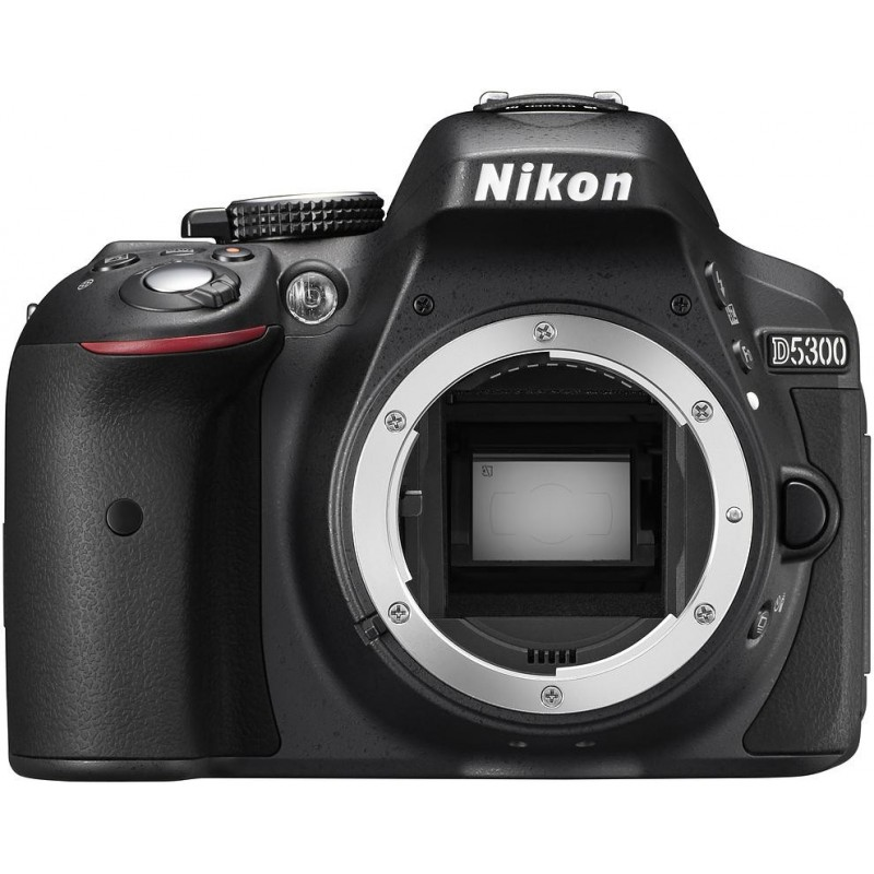Nikon D5300 + Tamron 18-400mm, black