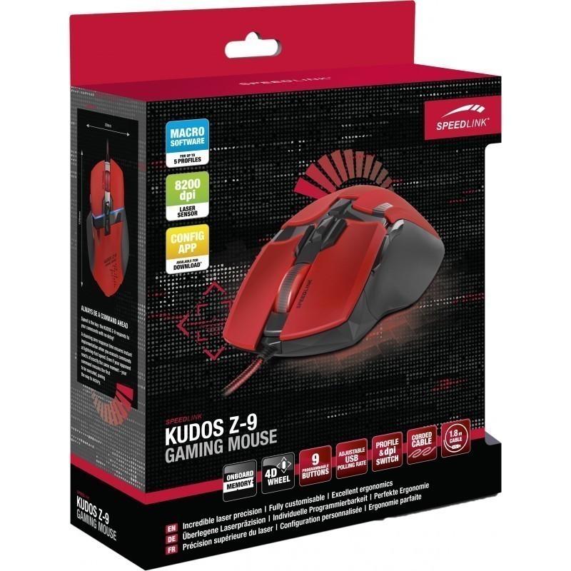Speedlink hiir Kudos Z-9 SL6391-RD