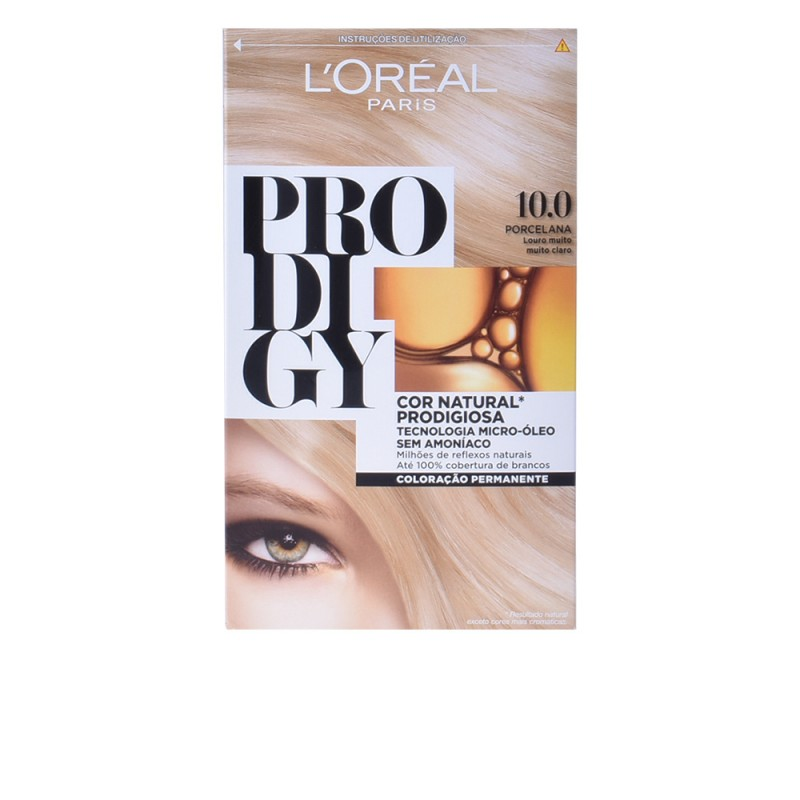 PRODIGY coloración permanente #10-porcelana 4 pz - Hair dye ...