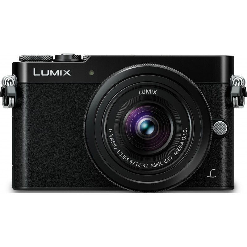 Panasonic Lumix DMC-GM5 + 12-32мм Kit, чёрный