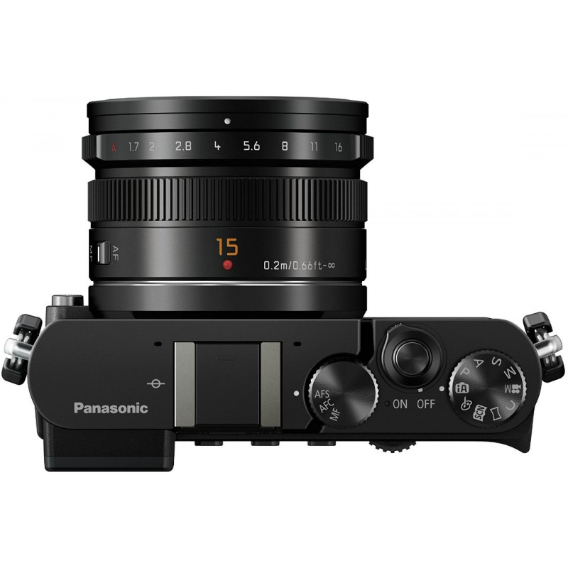 Panasonic Lumix DMC-GM5 + 15mm Kit, must