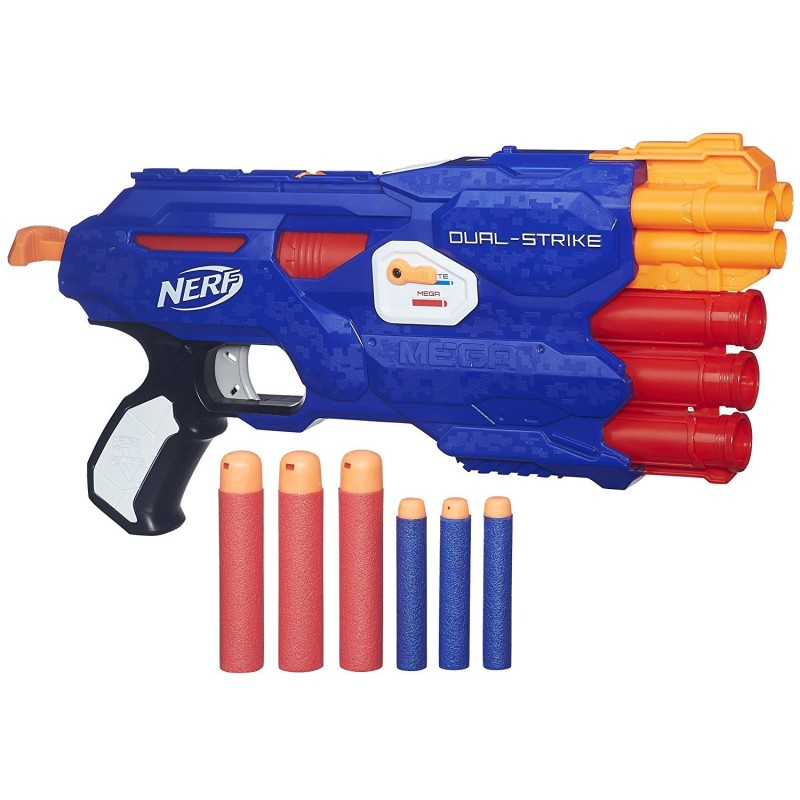 Amazon.com: Nerf N-Strike Elite Hail-Fire Blaster(Discontinued by  manufacturer): Toys & Games