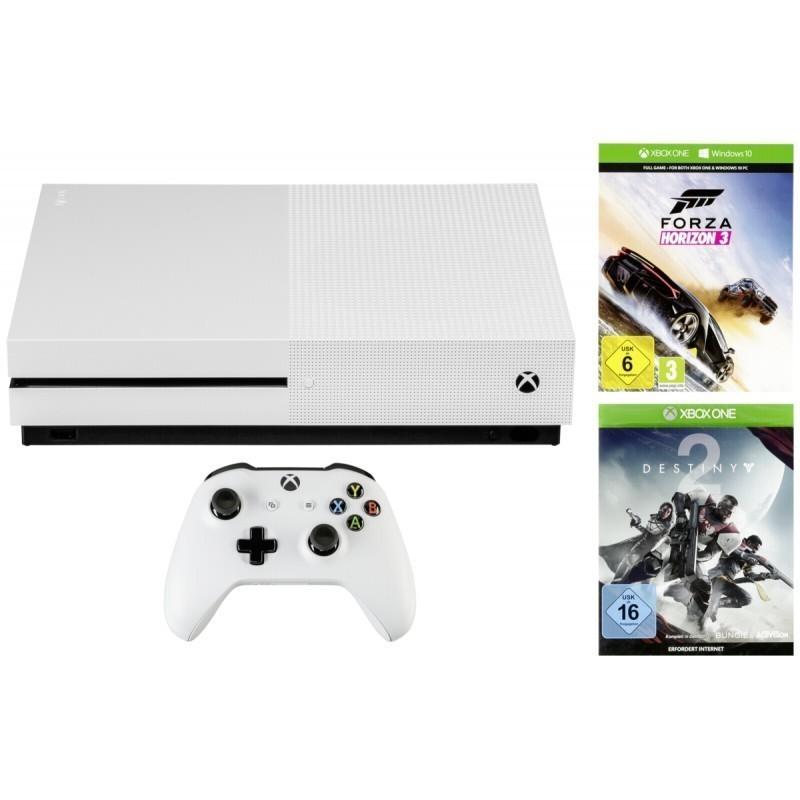 Microsoft Xbox One S 1TB incl  Forza Horizon 3/Destiny 2