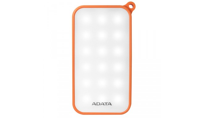ADATA D8000L Power Bank 8000mAh, LED 4, Orange