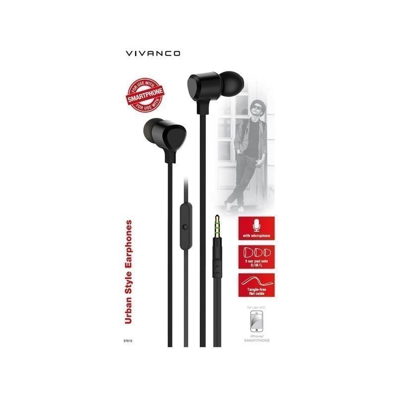 Vivanco headset URB35B, black (37615)