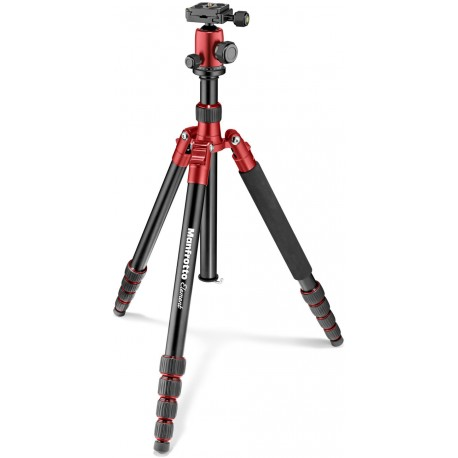 Manfrotto statiiv Element Traveller Big MKELEB5RD-BH, punane