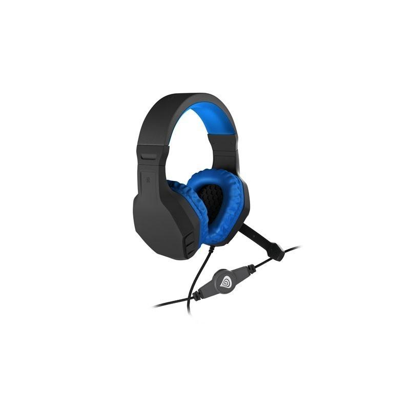 gaming headset genesis argon 200 blue stereo post test. Black Bedroom Furniture Sets. Home Design Ideas