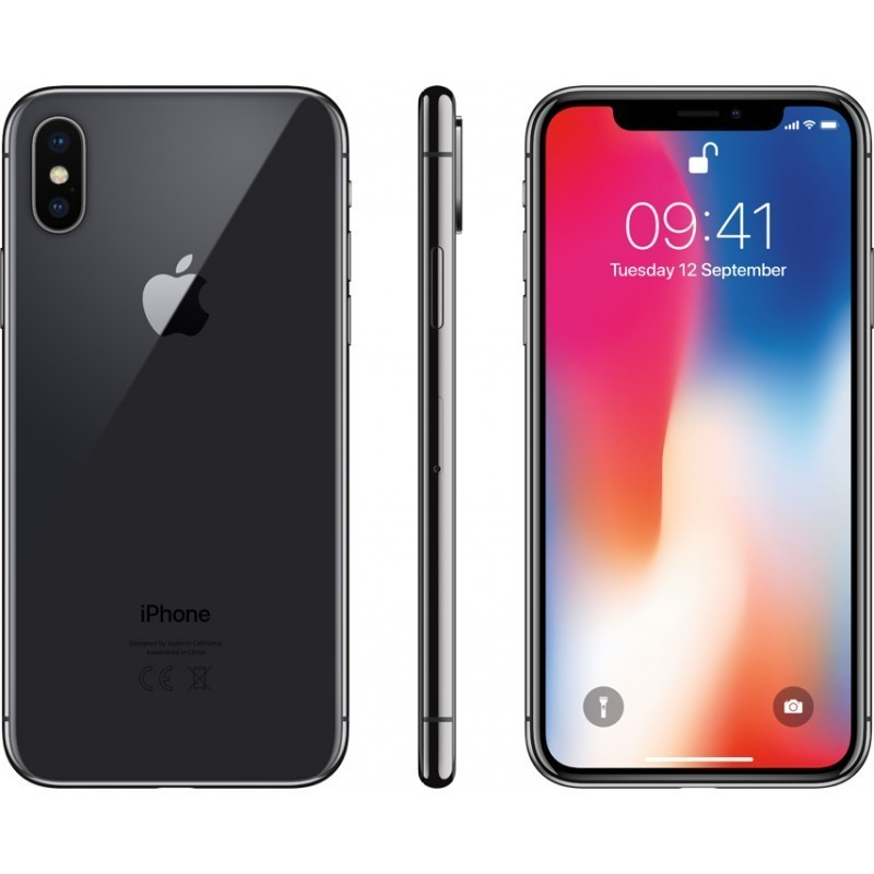 Apple iPhone X 256GB, space grey