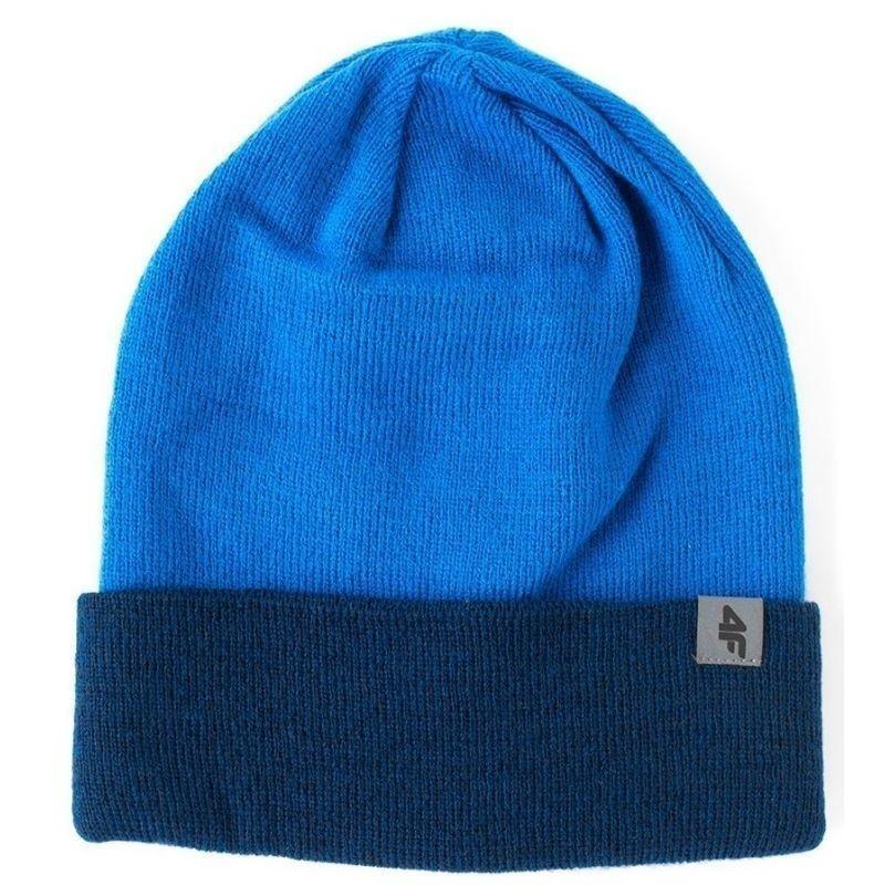 Winterhat for men 4F M H4Z17-CAM010 blue - Hats - Photopoint c74f2b2ef7ef