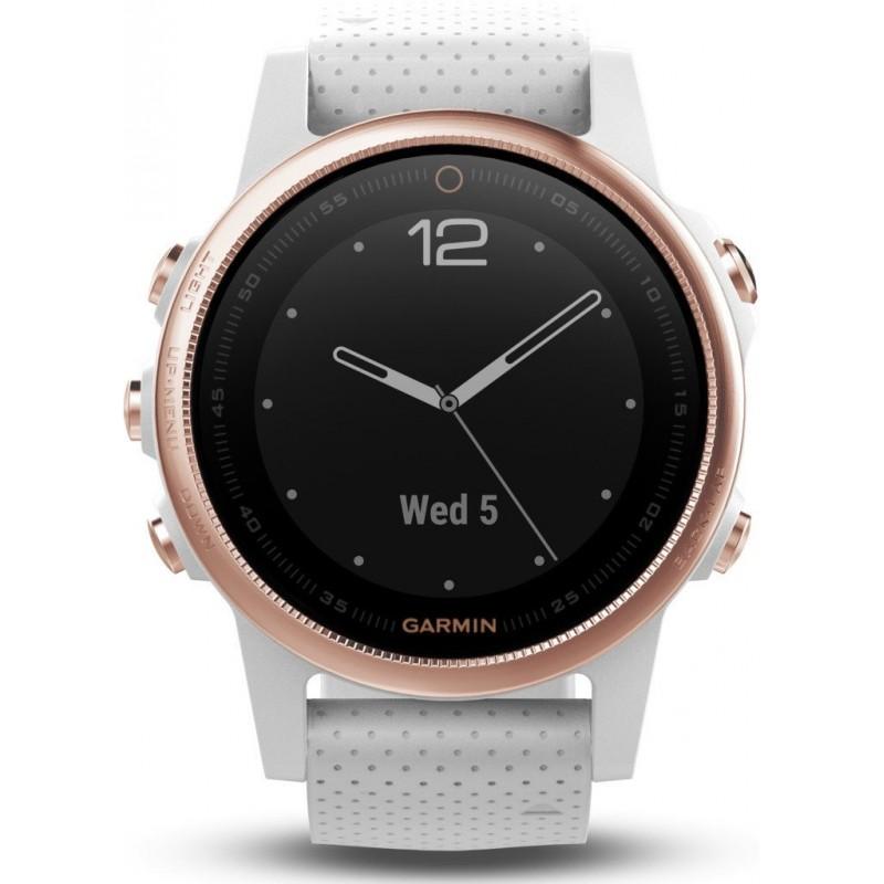 Garmin Fenix 5s Sapphire Rose Gold White Fitness Watches Photopoint